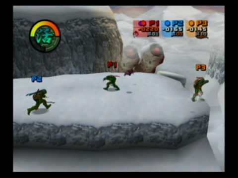 TMNT : Les Tortues Ninja GameCube