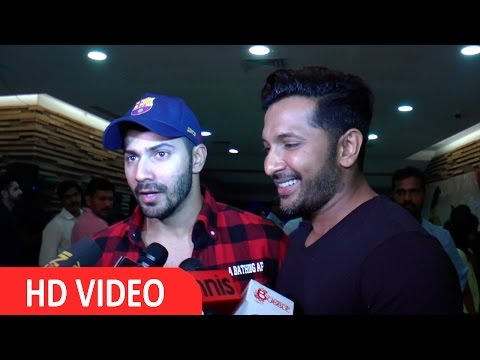 Varun Dhawan & Terence Lewis At Disney India's Beauty And The Beast Musical Evening