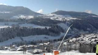 Hopfgarten Im Brixental Austria  city pictures gallery : View over Hopfgarten im Brixental, Skiwelt, Austria MOV04657.MPG
