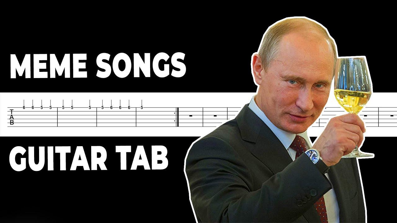 Meme Songs Guitar Tab (3)
