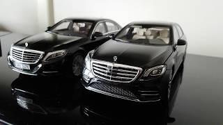 Download Lagu Norev's Mercedes Benz S-Class 1:18 2013 vs 2017 comparison 4K Mp3
