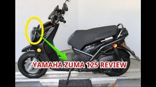 10. Yamaha Zuma 125 Review