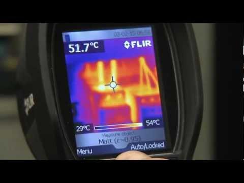 Spot Pyrometer versus Thermal Image