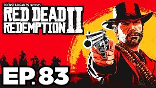 Red Dead Redemption 2 Ep.83 - MASSIVE LEGENDARY BULLGATOR ATTACK!!! (Gameplay / Let's Play)