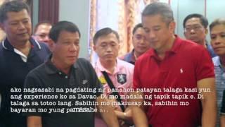 Exclusive video of Duterte-Remulla closed-door meet