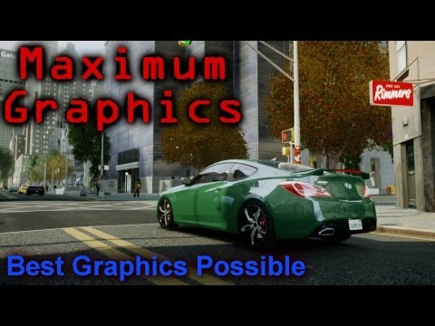 Graphics - This is the best graphics possible for GTA 4 Period. Using my custom ICEnhancer with Lord Neophytes new HD textures, and a mod to increase the detail of all ...