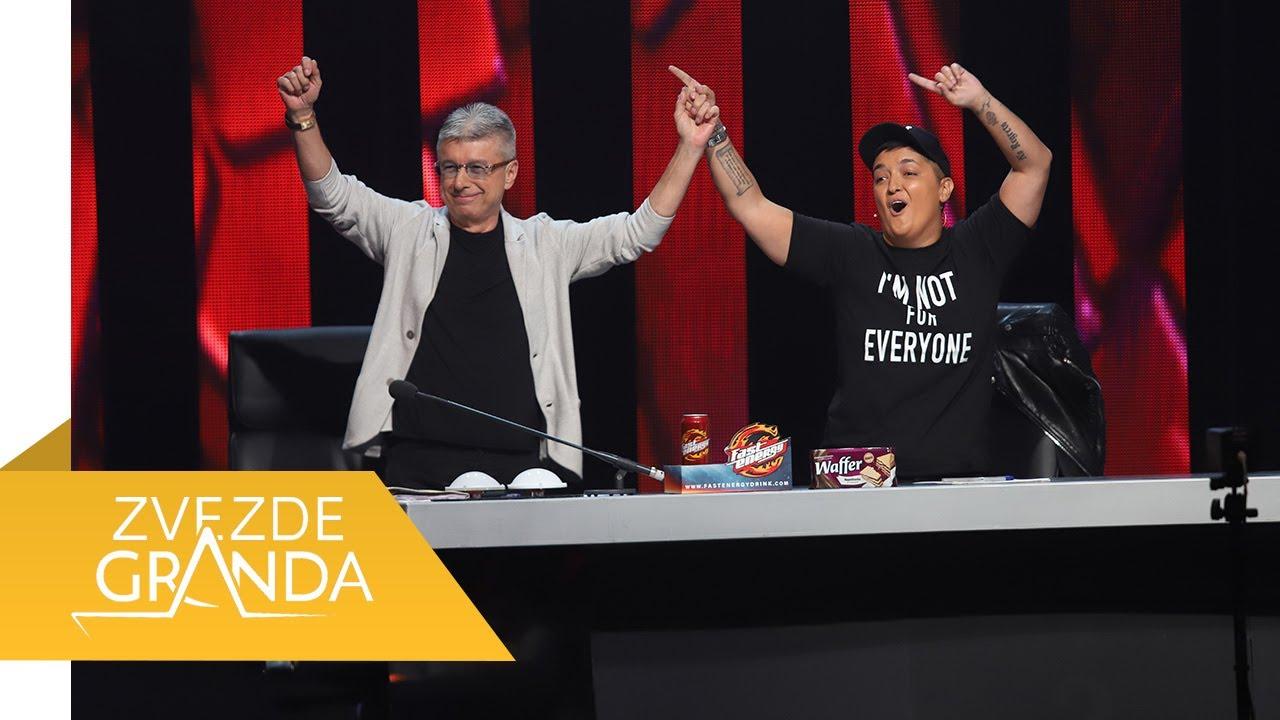 ZVEZDE GRANDA 2021 – cela 72. emisija (19. 06.) – sedamdeset druga epizoda – četvrtfinale – snimak