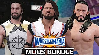 I showcase a variety of modded superstars from WrestleMania 33! All creators are credited below!Austin Aries, Neville, Shane McMahon, AJ Styles, Seth Rollins, & John Cena are by JulianBITWTriple H & Undertaker are by AlcLegacyWrestleMania 33 Arena is by Cus7ate9Show some love by leaving a like, sharing and subscribing for more awesome videos like these!OUTRO MUSIC: Undertaker's Rollin Theme Cover by JAYDEGARROWJAYDEGARROW's YouTube: https://www.youtube.com/channel/UCit4zHRRYaU5Og8ZHqvA7jQFOLLOW ME HERE:Facebook: https://www.facebook.com/julian.rosado.14Twitter: https://twitter.com/Jules1451Instagram: https://www.instagram.com/jules1451/Snapchat: @Jules1451Want to see more WWE 2K16 & WWE 2K17 Content? Visit this link for more! http://www.thesmackdownhotel.com