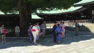 Meijijingu walking 1