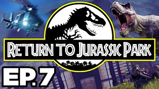 Return to Jurassic Park Ep.7 - • BUILDING AN AVIARY, PTERANODON FOSSILS!!! (Gameplay / Let's Play)