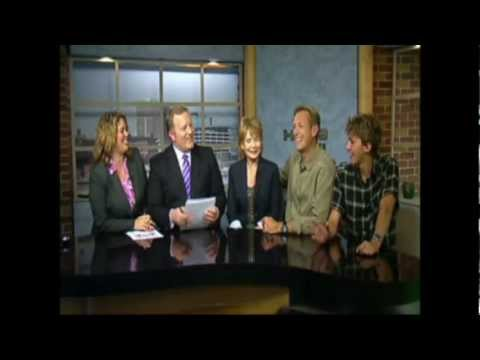 Walt Willey,  Julia Barr, and Chance Willey - Arsensic Old Lace interview