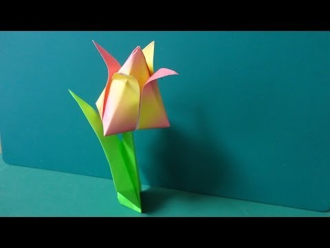 Flower Tutorial - 039 -- Tulip