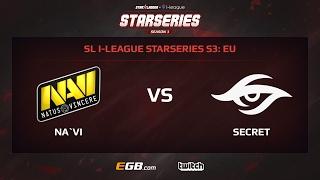 Natus Vincere vs Team Secret, Game 1, SL i-League StarSeries Season 3, EU