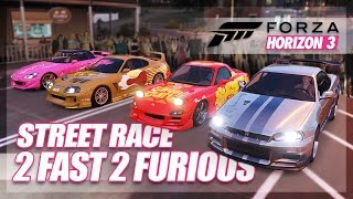 Nonton Forza Horizon 3   2 Fast 2 Furious Recreation   Build   Street Race  Film Subtitle Indonesia Streaming Movie Download