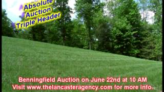 Lancaster Agency Triple Header Auction on June 22nd