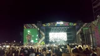 the chainsmokers - yellow coldplay lollapalooza 2017