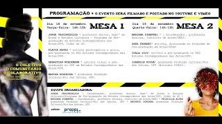Universidade Federal Fluminense/UFF Instituto de Humanidades e Saúde/RHS Departamento de Artes e Estudos Culturais/RAE O Coletivo, o Comunitário, ...