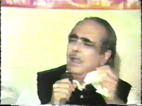 1985 Dr. Basheer  Badar India, Mushaira Los Angeles Dr. Peerzada Qasim