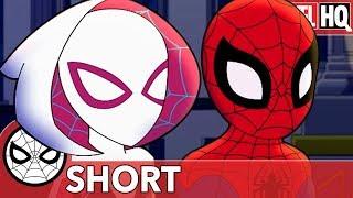 Spidey & Gwen & The Art of Teamwork | Marvel Super Hero Adventures - Doctor Octopus's Garden | SHORT