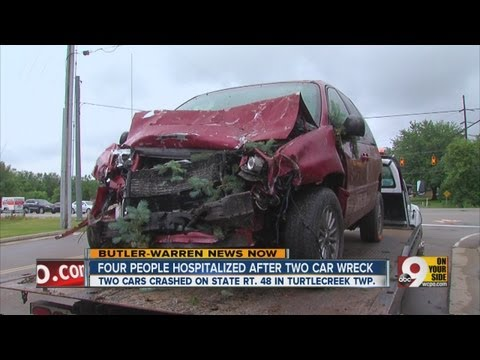 Crash on SR 48 in Warren Co. injures 4