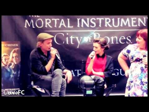 The Mortal Instruments Cast | Funny moments ♡
