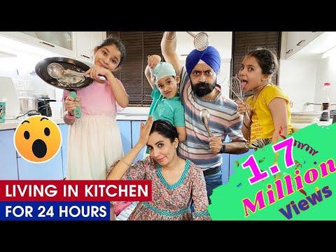 Challenge - Living In Kitchen - 24 Hours | Ramneek Singh 1313