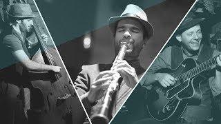 R.C.A trío Robindro Nikolic - clarineteCarles Gutiérres - guitarraAlejandro Fränkel - contrabajo