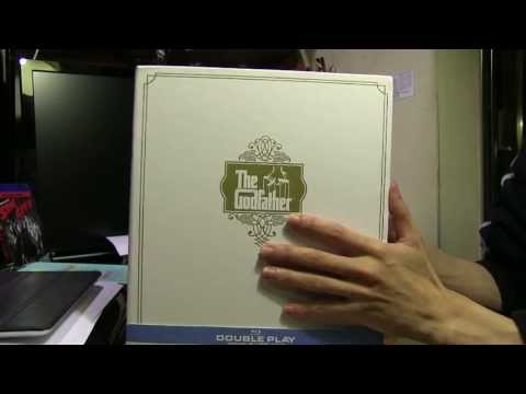 The Godfather 40th Anniversary Blu Ray Boxset - Unboxing video