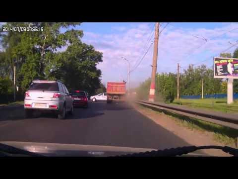 Авария с Грузовиком в Нижнем Новгороде