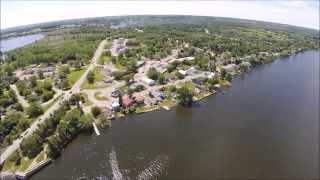 Belleville (ON) Canada  city photos : Belleville Bridge Ontario Aerial View - DJI Phantom 2 - GoPro 3+ Black