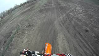 10. Me riding the new KTM 105 XC