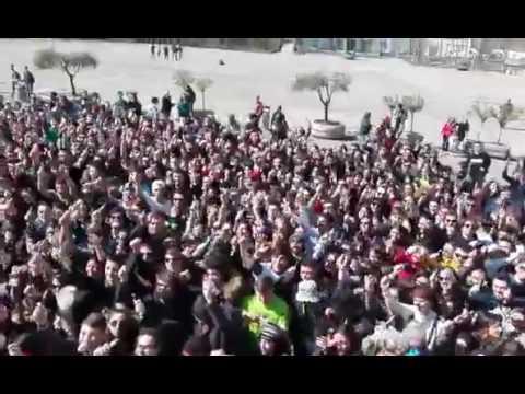 San Gabriele, la benedizione delle penne ai 100 giorni agli esami VIDEO/FOTO