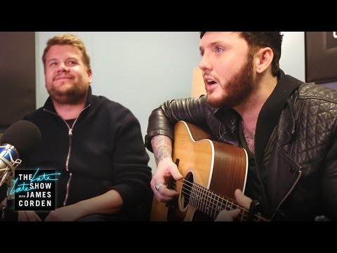 Video James Corden Auditions for James Arthur download in MP3, 3GP, MP4, WEBM, AVI, FLV January 2017