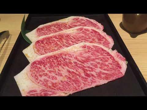 Melt in your mouth Wagyu Beef yakiniku - Nikushou Restaurant Hong Kong 肉匠