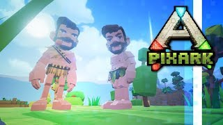 PixARK:Harmony? A Co-op Series w/ PythonGB! • Ep.01 • PixARK Multiplayer Gameplay