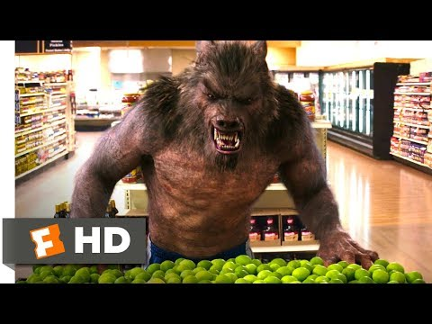 Goosebumps (6/10) Movie CLIP - Werewolf On Aisle 2 (2015) HD