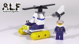 Lego City 30311 Swamp Police Helicopter / Sumpfpolizei Hubschrauber - Lego Speed Build review