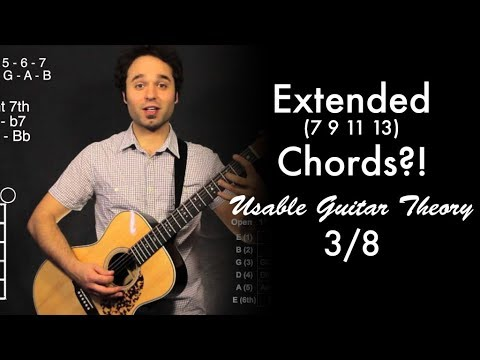 Extended (7 9 11 13) Chords?! | Usable Guitar Theory 3/8