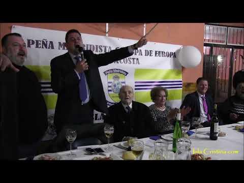 La arenga de Tomas Roncero sobre Cristiano Ronaldo en Isla Cristina