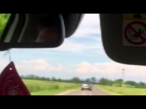 Video zo včerajšej dopravnej nehody medzi obcami Horovce a Vojčice