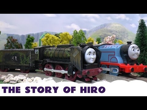 Play Doh Thomas The Train HIRO Story Toy Train Hero Of The Rails Kids Story Playdough