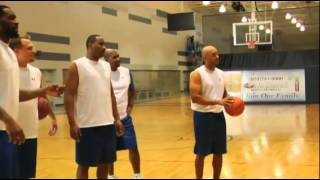Spudd Webb Dunking At 47 Age