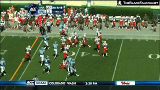 Gio Bernard's best plays against Miami in Chapel Hill October 15th, 2011 182 total yards = 110 Rushing, 72 Receiving http://www.theblackfalcon.net I don't own ...
