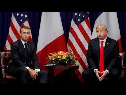 Frankreichs Präsident Macron: Handel nur mit Klimaf ...