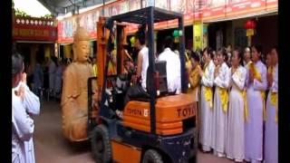 Lễ Rước Tượng Và đại Lễ Phật Đản 2013 Chùa Ngọc Hoa - Thủy Nguyên - HP