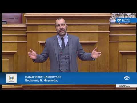 Π. Ηλιόπουλος (Κοινοβ. Εκπροσ.Χρυσή Αυγή)(Αναθεώρηση Συντάγματος)(13/02/2019)