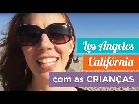 Vídeo de Los Angeles com crianças