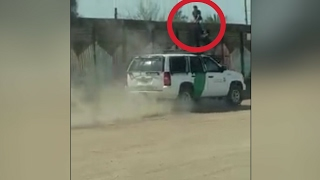 Unlucky man gets caught at the wrong place and at the wrong time