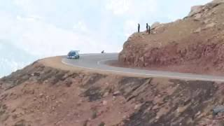 Video Car Drives off cliff at Pike's Peak MP3, 3GP, MP4, WEBM, AVI, FLV November 2017
