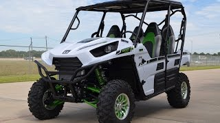 9. $16,999:  2015 Kawasaki Teryx4 LE Metallic Stardust White Overview and Review!